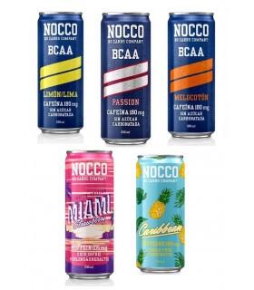 Nocco Bcaa Bebida Energética 330 Ml