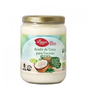 El Granero Aceite de Coco para Cocinar Bio
