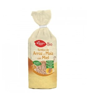 El Granero Tortitas de Arroz y Maíz con Miel Bio